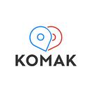 Komak's logo
